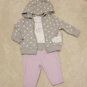 Unicorn baby girl outfit